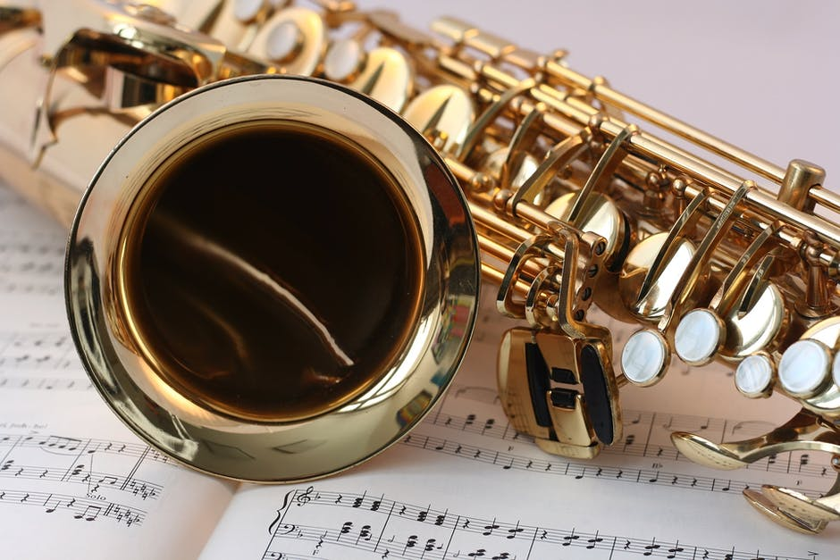 A close up of a music instrument